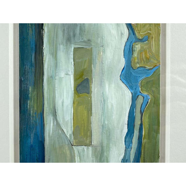 """Chase Langford """"Manhattan No. 1"""", Expressionist Oil Painting, 2003 For Sale In San Francisco - Image 6 of 13"""
