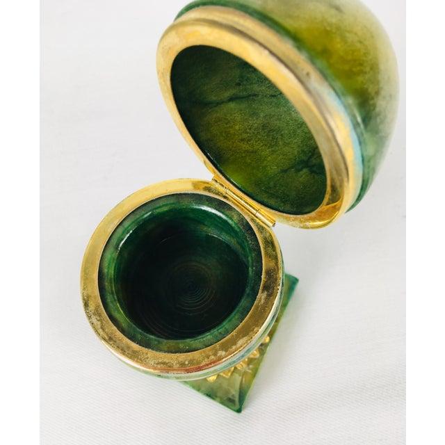 Italian 1950s Italian Alabaster Ring Box For Sale - Image 3 of 8