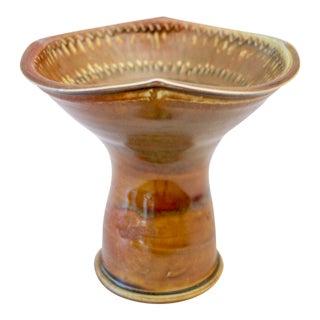 Glazed Pottery Bud Vase