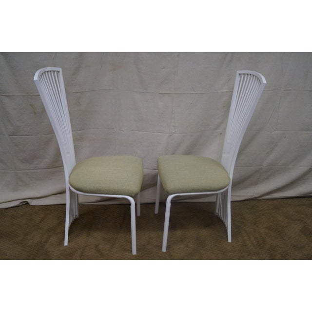 Stoneville Fan Back Dining Chairs - Set of 4 - Image 3 of 9