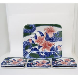 Chinese Plates & Platter, Set of 6 Preview