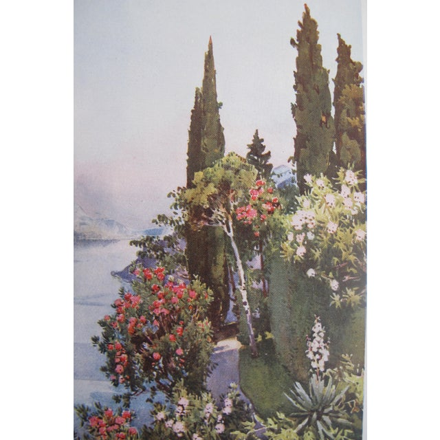 1905 Ella du Cane Print, Villa Giulia, Lago di Como - Image 3 of 5