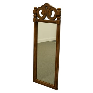 Thomasville Furniture Spanish Revival Mediterranean Dresser / Wall Mirror For Sale