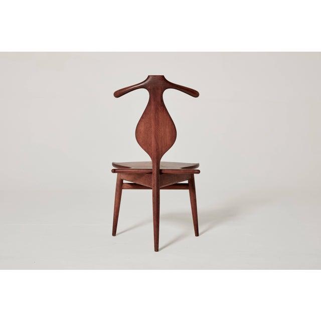 Hans Wegner Hans Wegner Valet Chair, Made by Johannes Hansen, Denmark, 1950s-1960s For Sale - Image 4 of 11