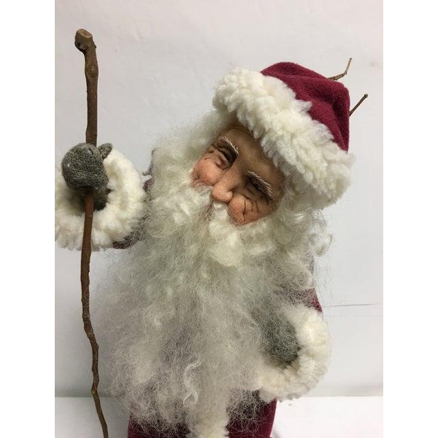 Sara Baker Hand Made Father Christmas - Image 5 of 10