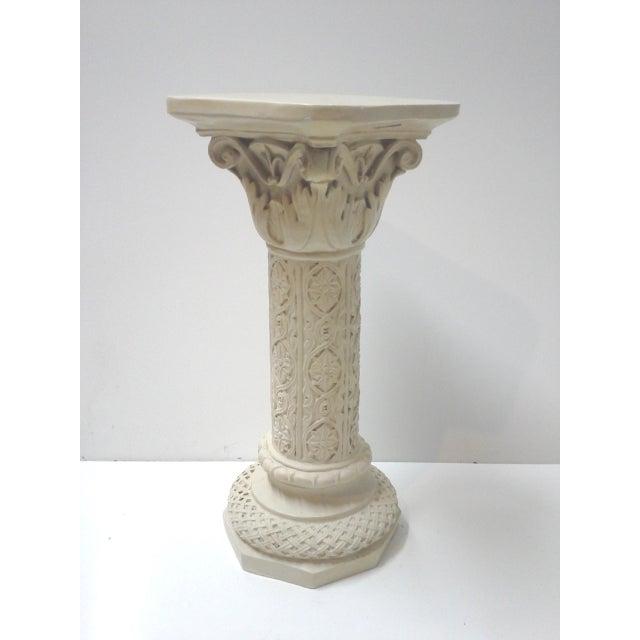 Vintage Acanthus Leaf Pedestal Plant Stand - Image 6 of 6
