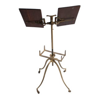 19th Century Antique Original American Music Stand For Sale