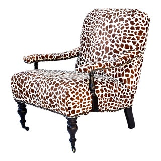 Barclay Butera Cow-Skin Printed Chair