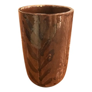 Diminutive Nancy Wickham Boyd Ceramic Vessel For Sale