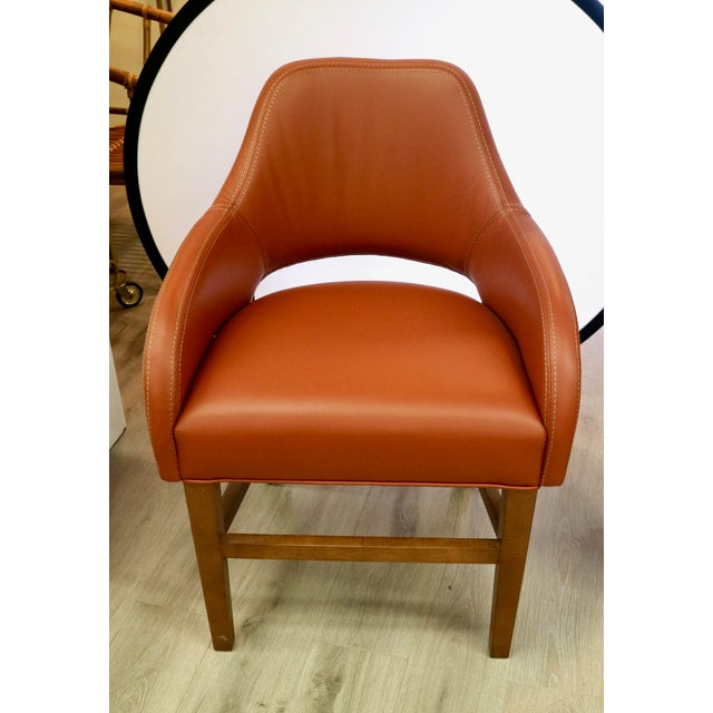 Leather Custom Leather Chair For Sale - Image 7 of 7