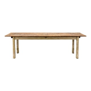 French Rustic Farm Table For Sale