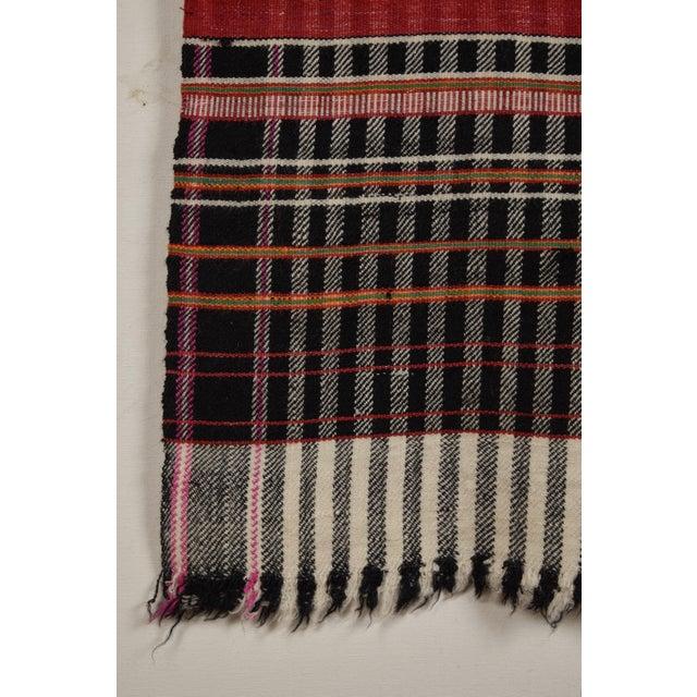 Khadi Handwoven Wool Blanket For Sale - Image 4 of 5