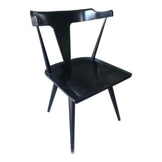1950s Mid-Century Modern Paul McCobb Planner Group Black Chair For Sale