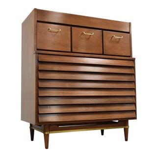 Merton Gershun Walnut Dresser for American of Martinsville For Sale