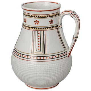 Aesthetic Movement Minton Pitcher or Jug For Sale