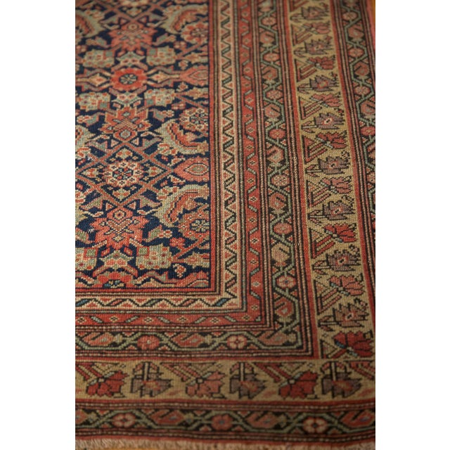 "1910s Antique Mission Malayer Rug - 3'8"" X 5'11"" For Sale - Image 5 of 12"