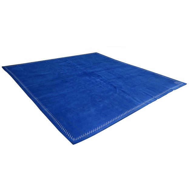 Modern Boccara Limited Edition Artistic Rug Homage to Yves Klein For Sale - Image 3 of 7