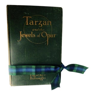 "Rare Original!Tarzan and the Jewels of Opar"" 1918 First Printing Book"