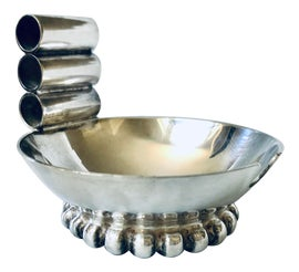 Image of Silver Ashtrays and Catchalls
