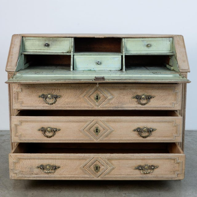 Mid 19th Century 1860s French Secretary Cabinet For Sale - Image 5 of 10
