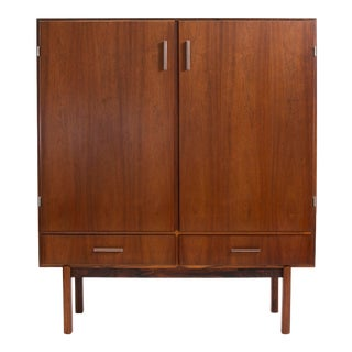 Mid Century Modern Danish Rosewood Cabinet by Axel Christensen Aco Mobler For Sale