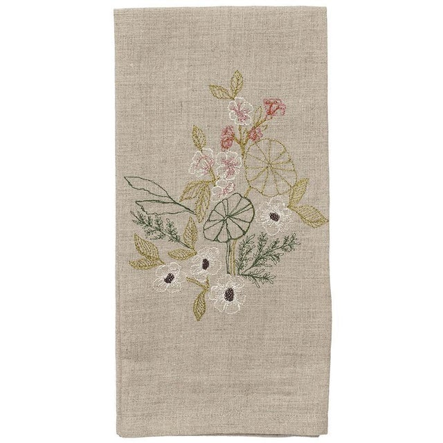 Meadow Blossoms Tea Towel For Sale - Image 5 of 5