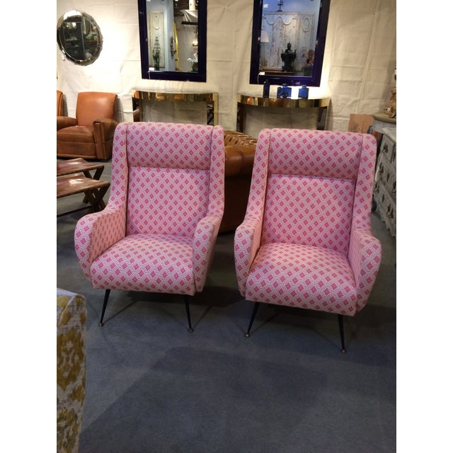 Gio Ponti Lounge Chairs - A Pair | Chairish