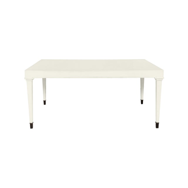 Traditional Casa Cosima Living Dalton Dining Table - Cloud White For Sale - Image 3 of 3