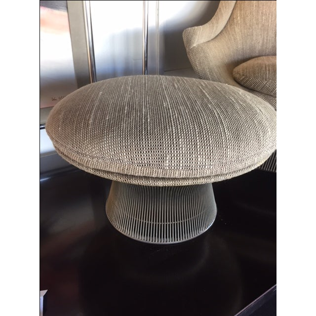 Warren Platner for Knoll Lounger & Ottoman - Image 3 of 10