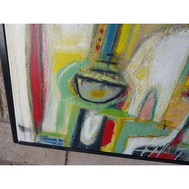 """Silence"" an Original Oil on Canvas Painting by Contemporary American Artist Adam Henderson For Sale - Image 10 of 13"