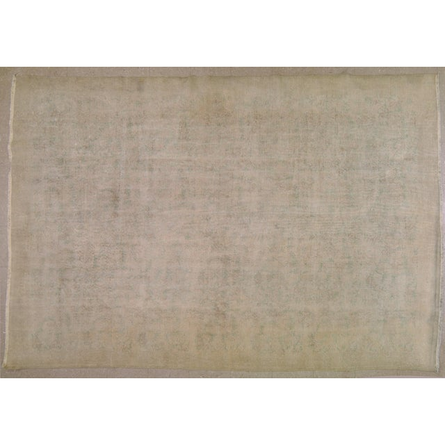"""Vintage Turkish Rug,7'4""""x10'5"""" For Sale In New York - Image 6 of 6"""