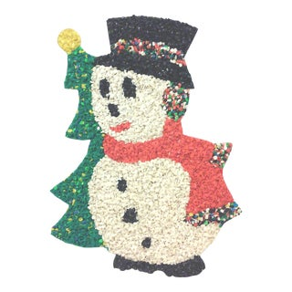 Vintage Snowman Hanging Wall Decoration