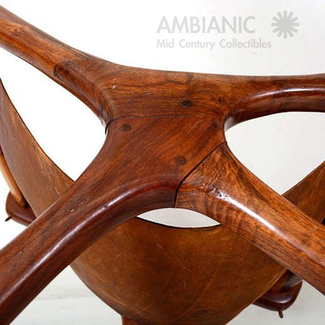 Sling Chair Attributed to Don Shoemaker For Sale - Image 10 of 11