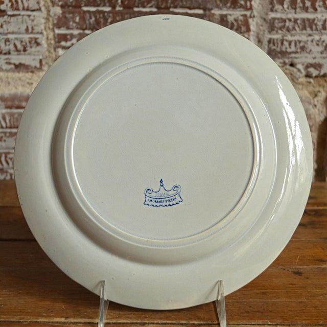 Quadrupeds Transferware Plate, John Hall Staffordshire - Image 9 of 10