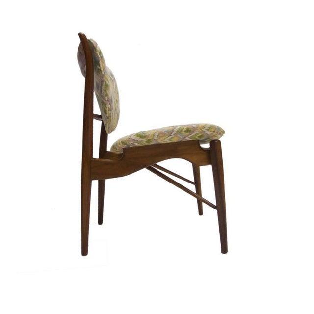 Finn Juhl Pair of Finn Juhl NV-51 for Baker Furniture Occasional, Desk or Dining Chairs For Sale - Image 4 of 8