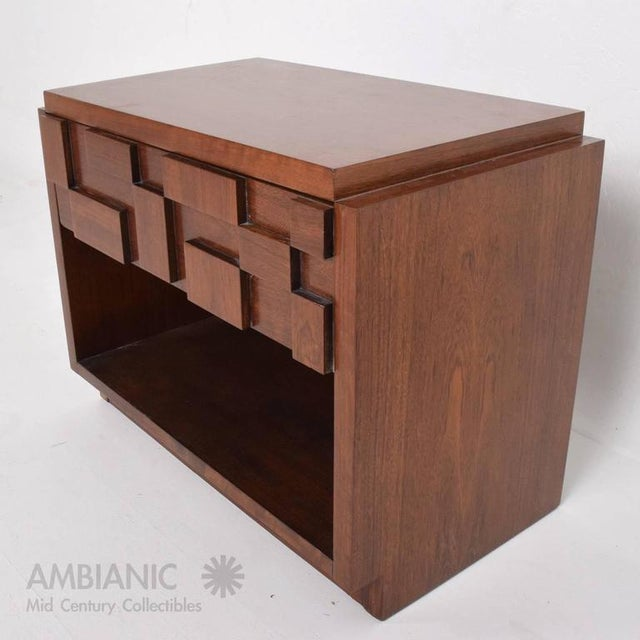 Mid-Century Modern Lane Nightstand For Sale In San Diego - Image 6 of 8