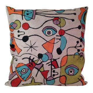 'Picasso' Wool Designer Pillow