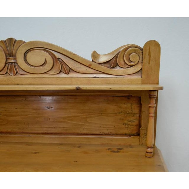 Country Pine and Beech Chiffonier For Sale In Washington DC - Image 6 of 10