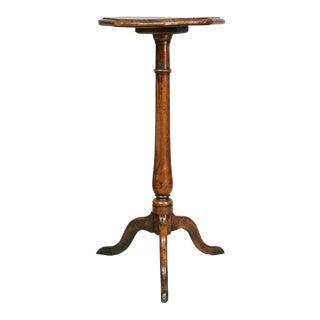 George III Oak Candle Stand