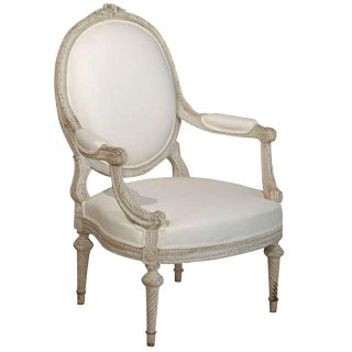 19th Century French Louis XVI Style Chair