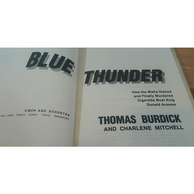 """""""Blue Thunder"""" 1990 Thomas Burdick & Charlene Mitchell For Sale - Image 5 of 7"""