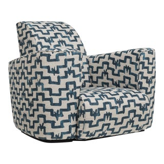 Customizable The Deco Club Chair by Talisman Bespoke For Sale