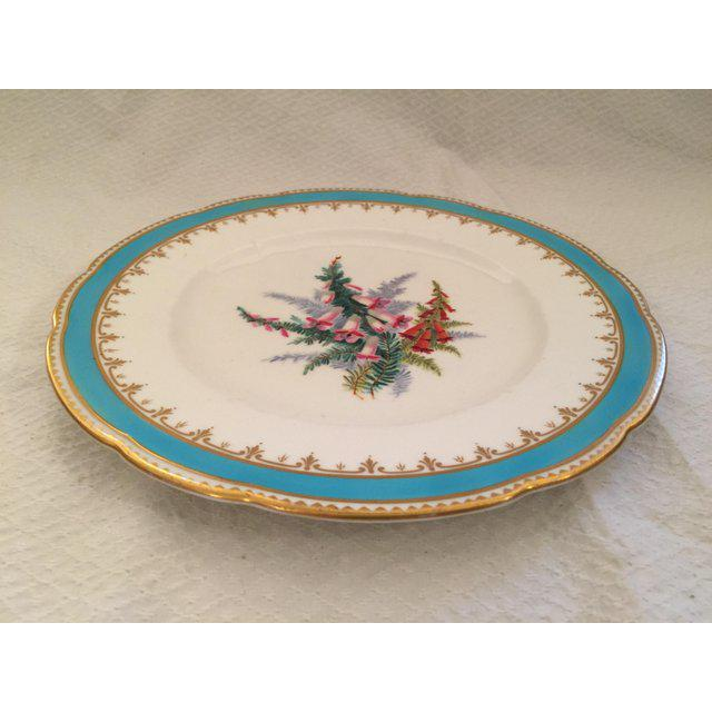 1930s 1930s English Traditional China Plate For Sale - Image 5 of 8