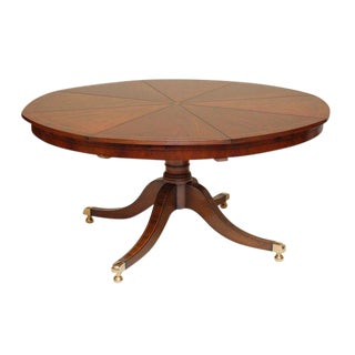 Smith and Watson Round Radial Dining Table For Sale