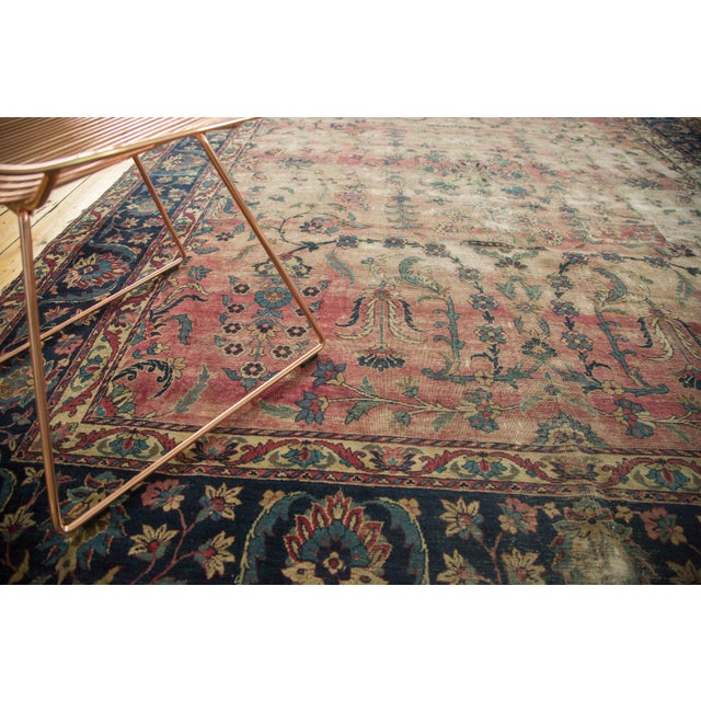 Antique Yazd Carpet - 8' x 10' - Image 5 of 10