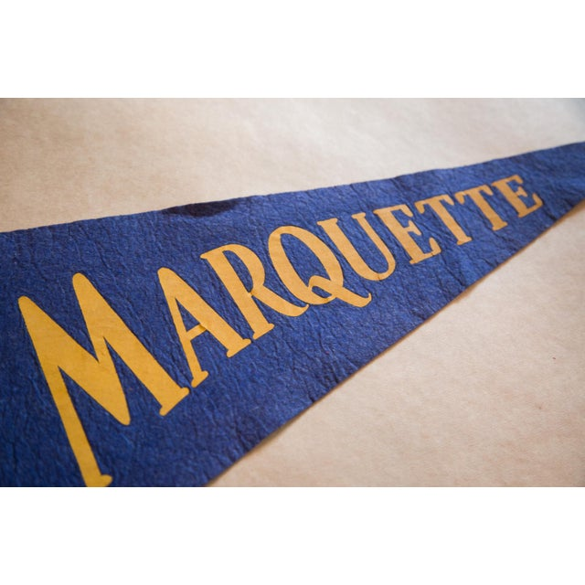 Marquette Felt Flag For Sale - Image 4 of 5