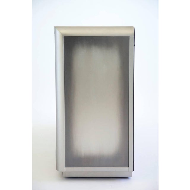 Design Institute of America Painted Steel Buffet For Sale - Image 10 of 10