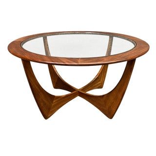 "1960s Mid Century Modern G Plan Teak ""Astro"" Coffee Table For Sale"