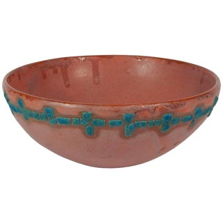 Relicware Earthenware Bowl #73 by Andrew Wilder For Sale
