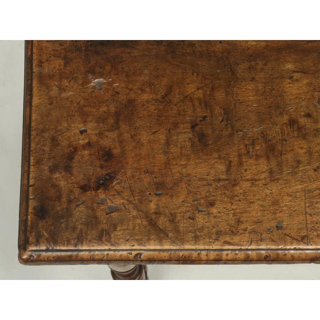 Country Antique Country French Side or End Table From the Early 1700s For Sale - Image 3 of 10